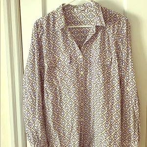 Express women's dress shirt: city shirt